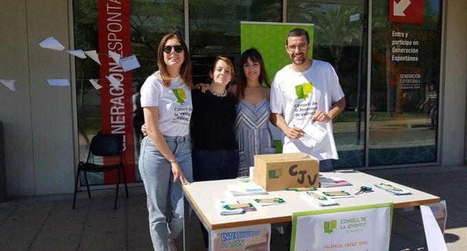 El Consell de la Joventut de València saca a la calle la campaña #ValènciaCiutatJove