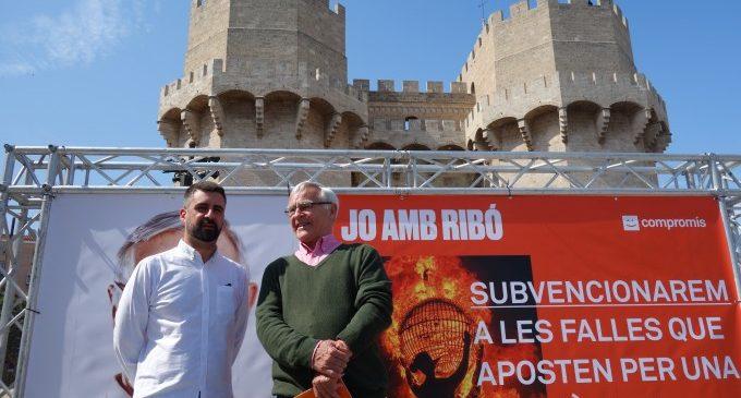 Ribó donarà ajudes a les comissions per unes Falles amb materials més sostenibles