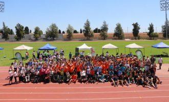 Alumnes d'educació especial participen en una jornada d'esport inclusiu
