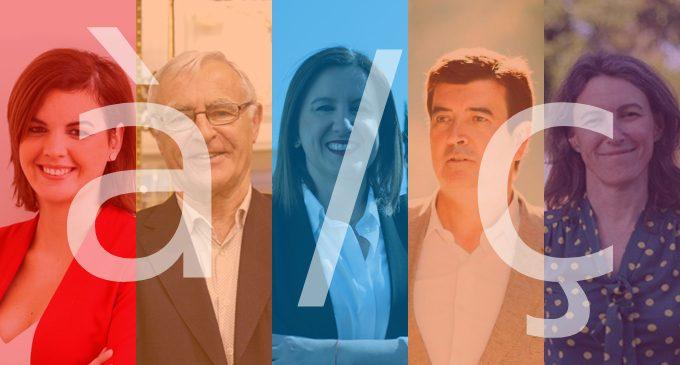 El valencià en els programes: de la promoció de Compromís i PSPV a la involució del PP