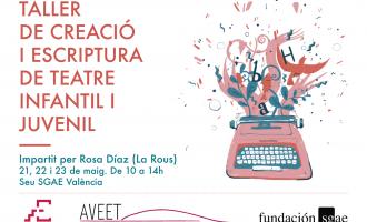 El Teatre Escalante presenta les II Jornades de Creació de Teatre Infantil amb l'Associació Valenciana d'Escriptors Teatrals