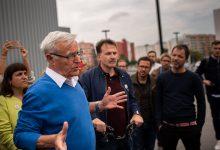 Ribó trau la cara per la mobilitat sostenible, mentre la dreta parla de la reversió de carrils bici