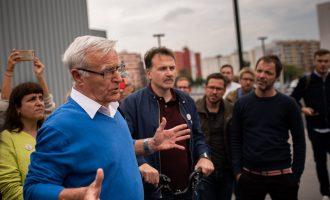 """Ribó proposa una aplicació que """"unifique a tots els transports públics"""", inclòs el taxi"""