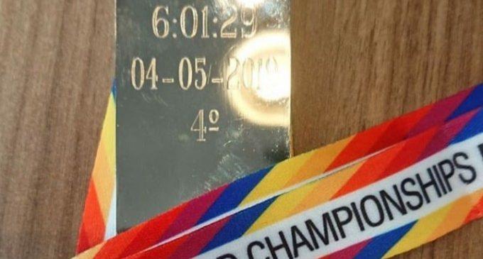 Un Policia Local de Torrent aconsegueix el 4t lloc en el Campionat Mundial de Triatló