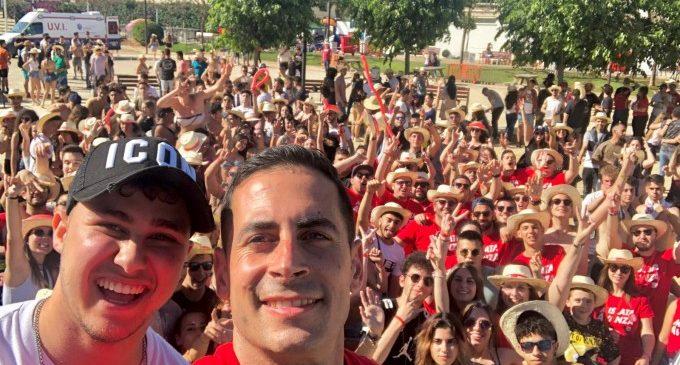 Els joves Socialistes de Mislata reuneixen a prop de 2000 persones en el Paelles Sound