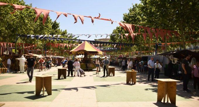 Alfafar celebra amb èxit el VI mercat medieval del Barri Orba