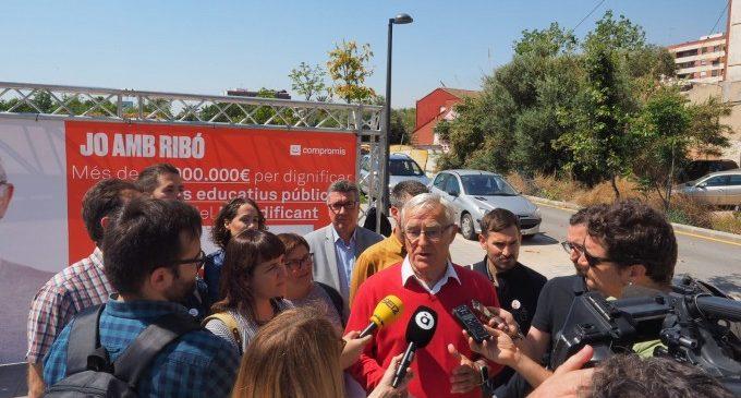 Ribó anuncia la inversió de 63 milions d'euros en 38 centres educatius i l'obertura de 5 nous centres de la Universitat Popular