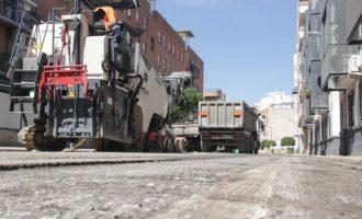 Alaquàs inverteix 78.557 euros en la repavimentació de carrers