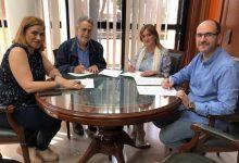 Albal signa el conveni anual amb l'Associació Comerços