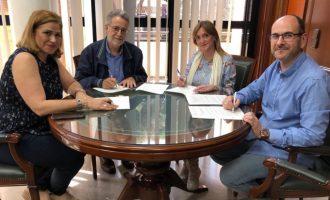 Albal firma el convenio anual con la Asociación Comercios