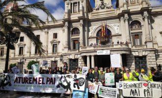 Més de 150 entitats de Benimaclet se sumen a la manifestació