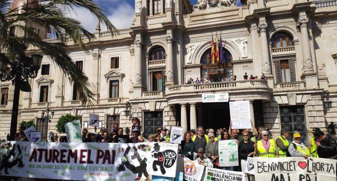Más de 150 entidades de Benimaclet se suman a la manifestación