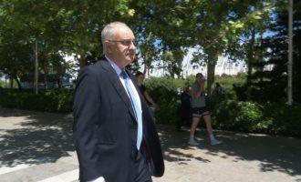 Blasco acorda amb Fiscalia tres anys i sis mesos de presó pel frau en les ajudes a ONGs i l'hospital d'Haití