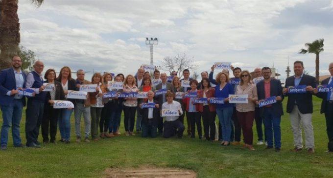 """Bonig assegura que el PP és l'únic partit """"que coneix a la perfecció els municipis de la Comunitat Valenciana"""""""