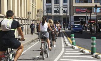 Los usuarios del anillo ciclista valenciano siguen creciendo