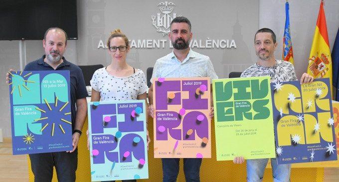 La Gran Fira de València 2019 ya tiene cartel oficial