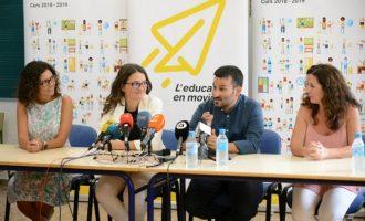 Compromís aplaudeix l'aposta per l'educació del govern de Paiporta en contrast amb les corrupteles del PP