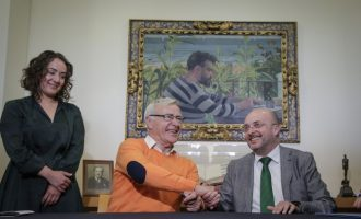 L'Ajuntament signa el nou conveni per a la difusió de la figura de Blasco Ibáñez