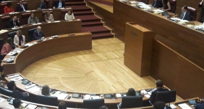 Comença el treball de la X Legislatura de les Corts Valencianes