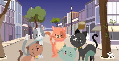 El gat Fígaro i la lluna