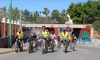 Rafelbunyol celebrà ahir  el dia de la bici