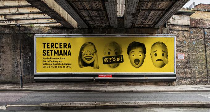 """El Festival Tercera Setmana presenta la imatge de la seua quarta edició amb el lema """"Expressa't!"""""""