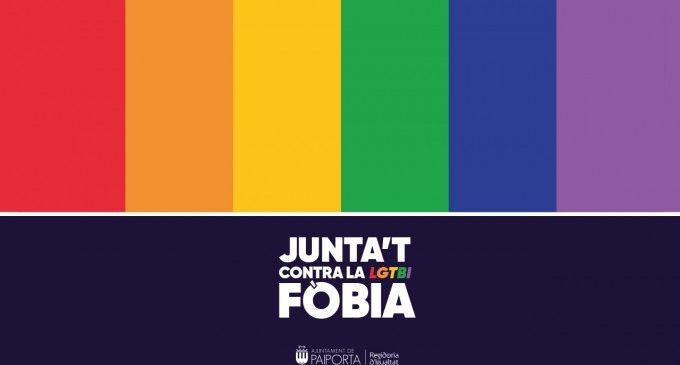 Paiporta trenca estereotips amb motiu del 17 de maig, Dia Internacional Contra la LGTBIfòbia