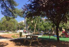 La remodelació del jardí de Blasco Ibáñez acaba demà