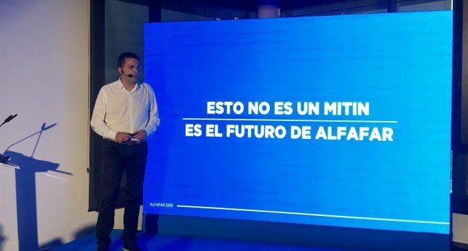 Juan Ramón Adsuara presenta la seua proposta política per a Alfafar