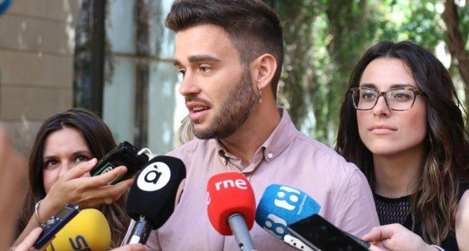 El grup parlamentari Compromís tria a Fran Ferri com a Síndic i a Aitana Mas, Juan Ponce i Mònica Àlvaro com a portaveus adjunts