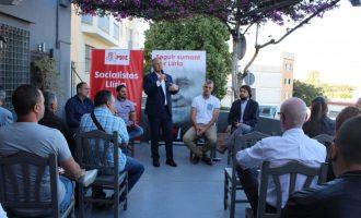 El PSOE de Lliria presenta su programa de deportes