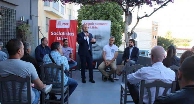 El PSOE de Lliria presenta el seu programa d'esports