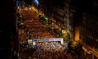 Alrededor de 10.000 corredores participan mañana en la 15K València nocturna Banco Mediolanum