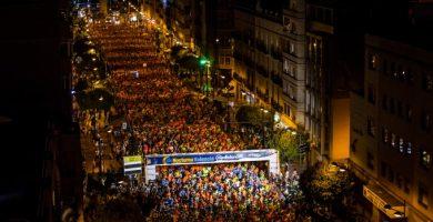 La 15K Nocturna causará este sábado cortes de tráfico y desvíos de autobuses en València