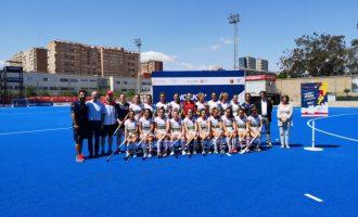 El polideportivo de beteró acoge la Valencia Hockey Series Final Women 2019, primer paso para las olimpiadas de 2020