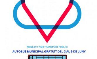 L'autobús municipal de Godella serà gratuït esta setmana per celebrar el Dia Mundial del Medi Ambient