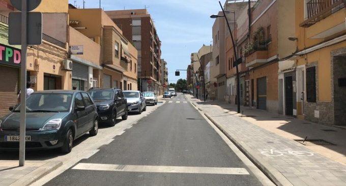 Mobilitat reordena la circulació del carrer Jacinto Benavente