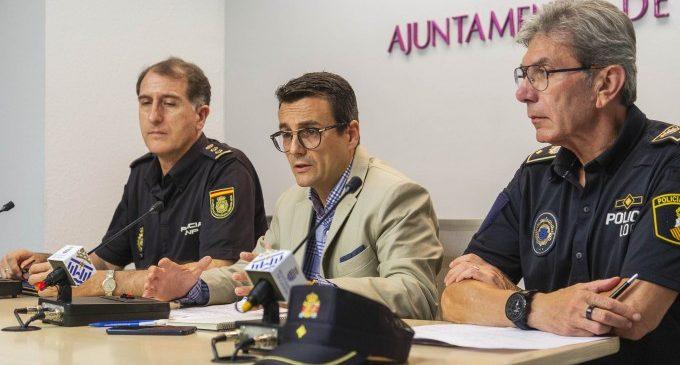 Gandia posa en marxa el dispositiu policial especial d'estiu