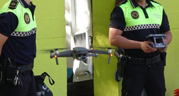 Ontinyent incorpora dos drons d'última tecnologia als equipaments de la Policia Local