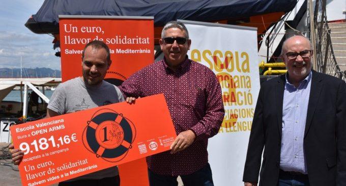 Escola Valenciana: «La solidaritat canvia el món»