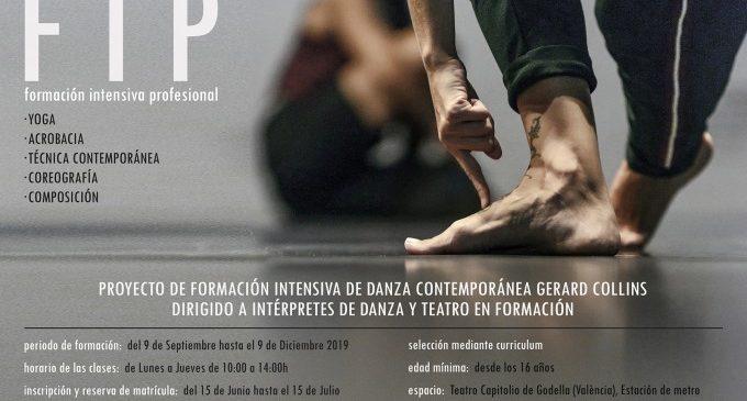Naix el Projecte de Formació Intensiva Professional de Dansa Contemporània Gerard Collins a Godella