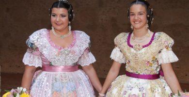 Sara Morcillo y Judith Díaz, Falleras Mayores de Alaquàs 2020
