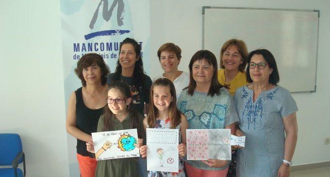 La Mancomunitat de Municipis de la Safor entega els premis del III Concurs de Dibuix del Dia Mundial Sense Tabac