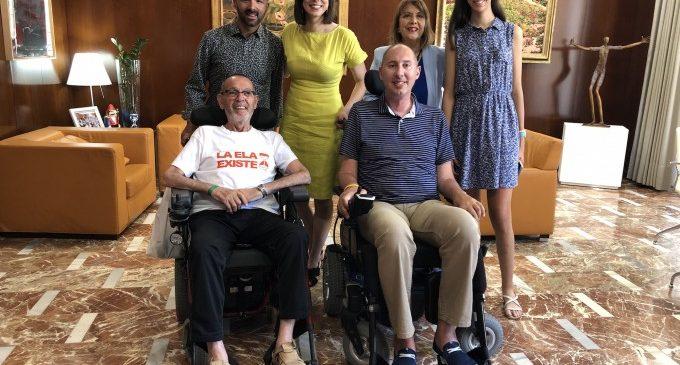 Gandia commemora aquest divendres el Dia Mundial contra l'Esclerosi Lateral Amiotròfica