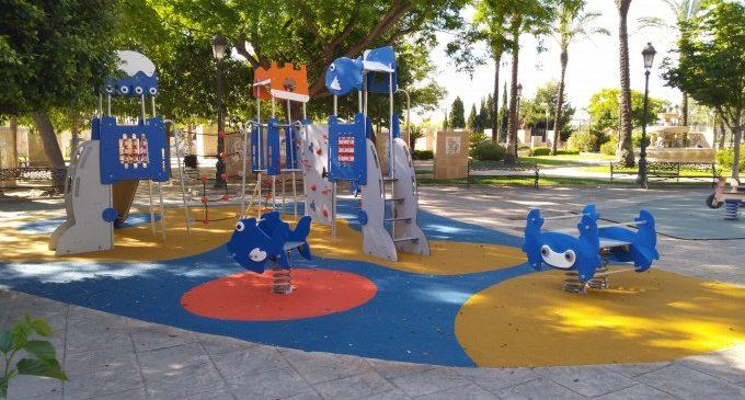 Continua el Pla de Renovació de Parcs i Jardins de Manises