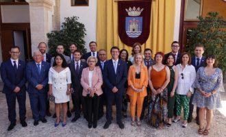 """Jorge Rodríguez, elegido alcalde de Ontinyent, llama a un """"gran pacto por el futuro"""" de la localidad"""