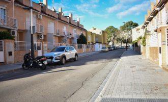 Alfafar adjudica les obres d'urbanització de diversos carrers del Barri Orba i Alfalares