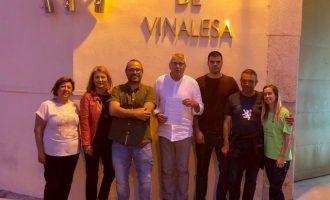 Vinalesa reedita el pacte del progrés entre PSPV i Compromís