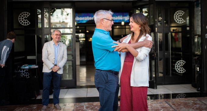 """Primera reunió """"satisfactòria"""" de La Nau II: """"el 15 de juny Joan Ribó serà l'alcalde amb els vots del PSPV"""""""