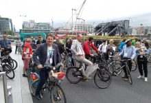 València exhibe su modelo ciclista en Dublín